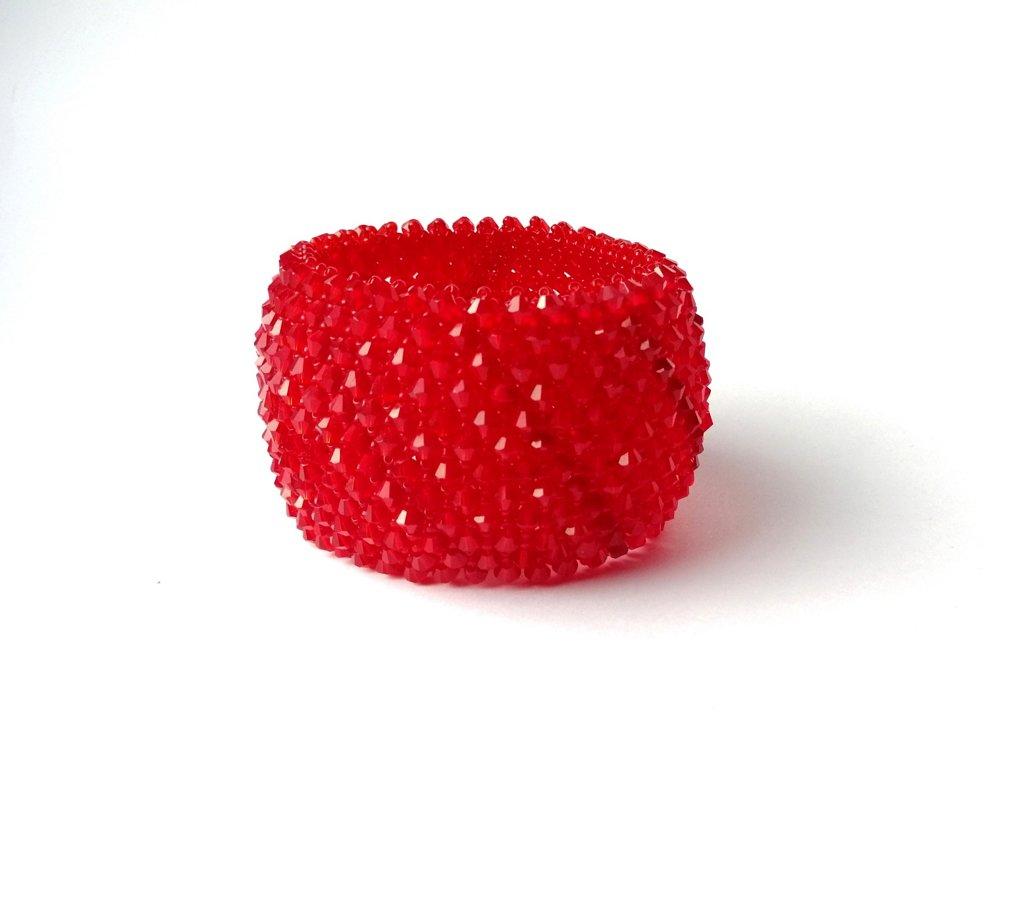 Liela pēŗlota aproce /sarkana/
